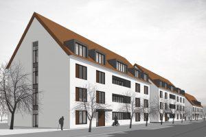 Wettbewerb Neubau Pflege- und Bürgerzentrum Smiterlowstraße in Stralsund